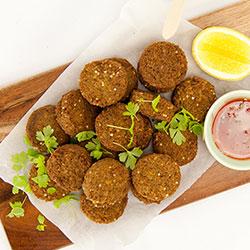 Quinoa falafel thumbnail