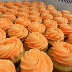 Halloween orange cupcakes thumbnail