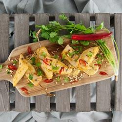 Satay chicken skewer thumbnail