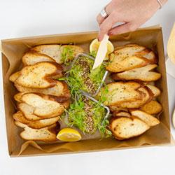Smashed avocado toast box thumbnail