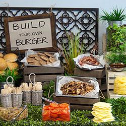 Build your own burger bar thumbnail