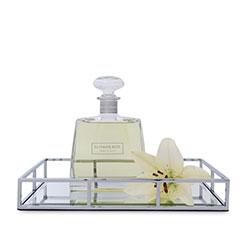 Mirrored rectangular tray thumbnail