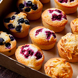 Assorted friands thumbnail
