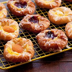 Petite Danish pastries thumbnail
