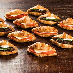 Vegetarian croissant - mini thumbnail