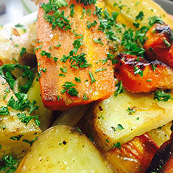 Roast veg and pesto salad thumbnail
