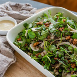 Spring pea salad thumbnail