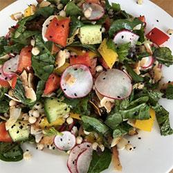 Middle eastern summer salad thumbnail
