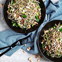 Green tea soba noodle salad thumbnail
