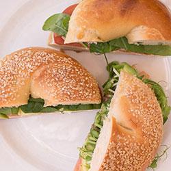 Breakfast bagel - mini thumbnail