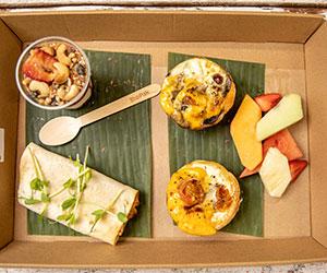 Veggie Hot Breakfast Package thumbnail