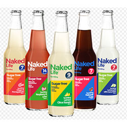 Naked Life sparkling sugar free - 330ml thumbnail