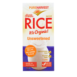 Pure Harvest rice milk organic - 1L thumbnail