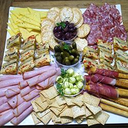 Gourmet platter - serves 10 to 15 thumbnail
