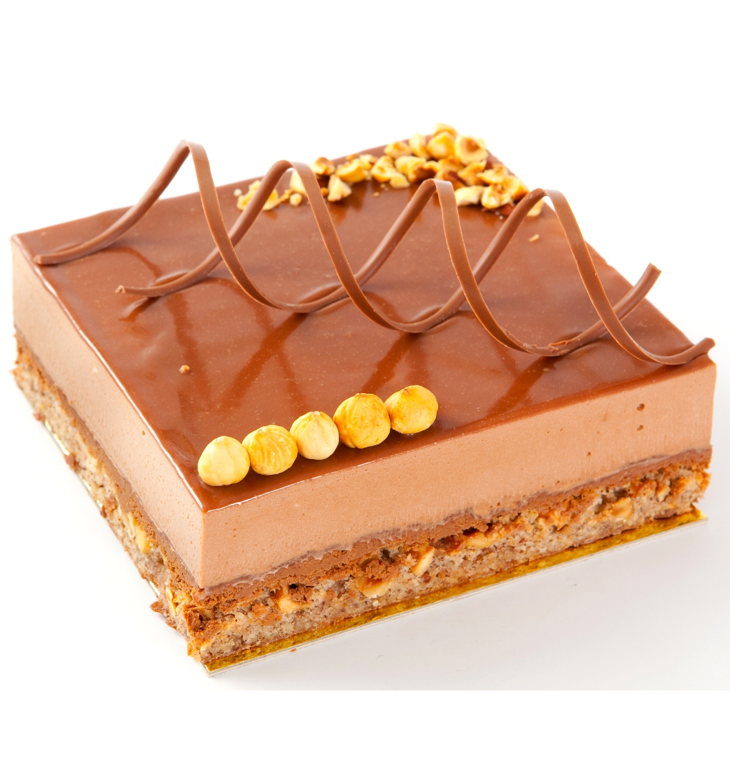 Hazelnut fan cake -  15cm x 17cm - serves 10 thumbnail