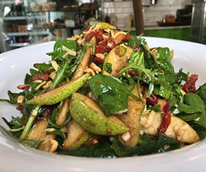 Pear and rocket salad - serves 10 thumbnail