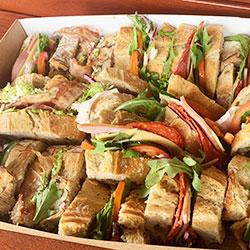 Classy rustic sandwiches box thumbnail