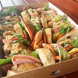 Rustic sandwiches box thumbnail