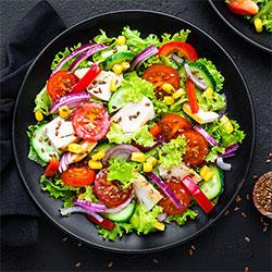 Chicken and chorizo salad box thumbnail