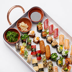 Japanese mixed sushi platter thumbnail