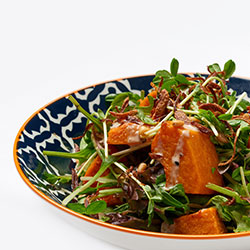 Roasted pumpkin salad thumbnail