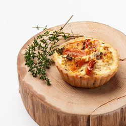 Seasonal vegetable tart thumbnail
