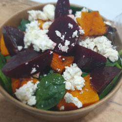 Pumpkin and beetroot salad thumbnail