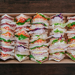 Traditional sandwich platter thumbnail