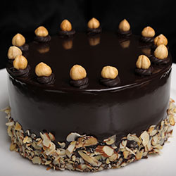 Baci round cake thumbnail