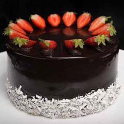 Chocberry round cake thumbnail