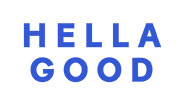 Hella Good logo