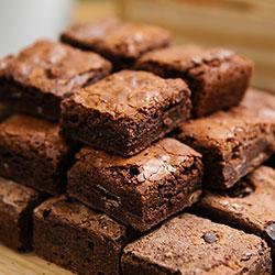 Brownies and friand platter thumbnail