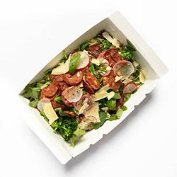 Chorizo and brown rice salad thumbnail
