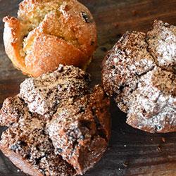 Fresh house baked muffins thumbnail