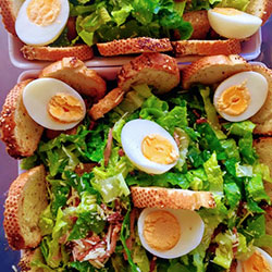 Chicken Caesar salad thumbnail