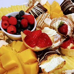 VIP Indulgent French pastries and fresh fruit platter thumbnail