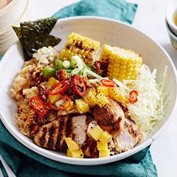 Chicken poke bowl thumbnail