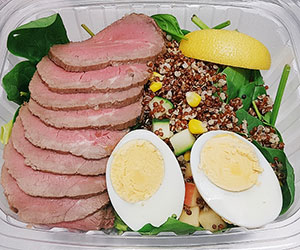 Steak salad thumbnail