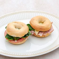 Breakfast bagels - mini thumbnail