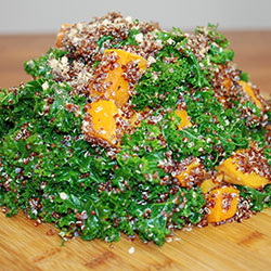 Roast spiced pumpkin quinoa salad thumbnail