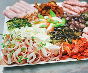 Antipasto platter - serves 8 to 12 thumbnail