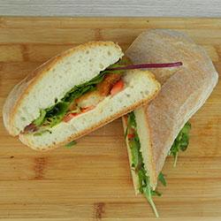 Bakery bread sandwich - mini thumbnail