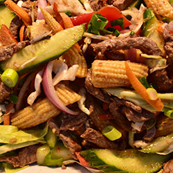 Middle East lamb salad thumbnail