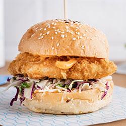 Panko fish burger thumbnail