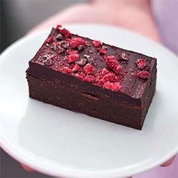 Cacao raspberry slice thumbnail