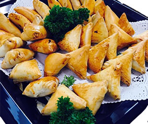 Filo pastry parcels thumbnail