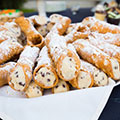Cannoli with ricotta orange and chocolate thumbnail