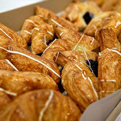 Assorted fruit Danish pastries - mini thumbnail