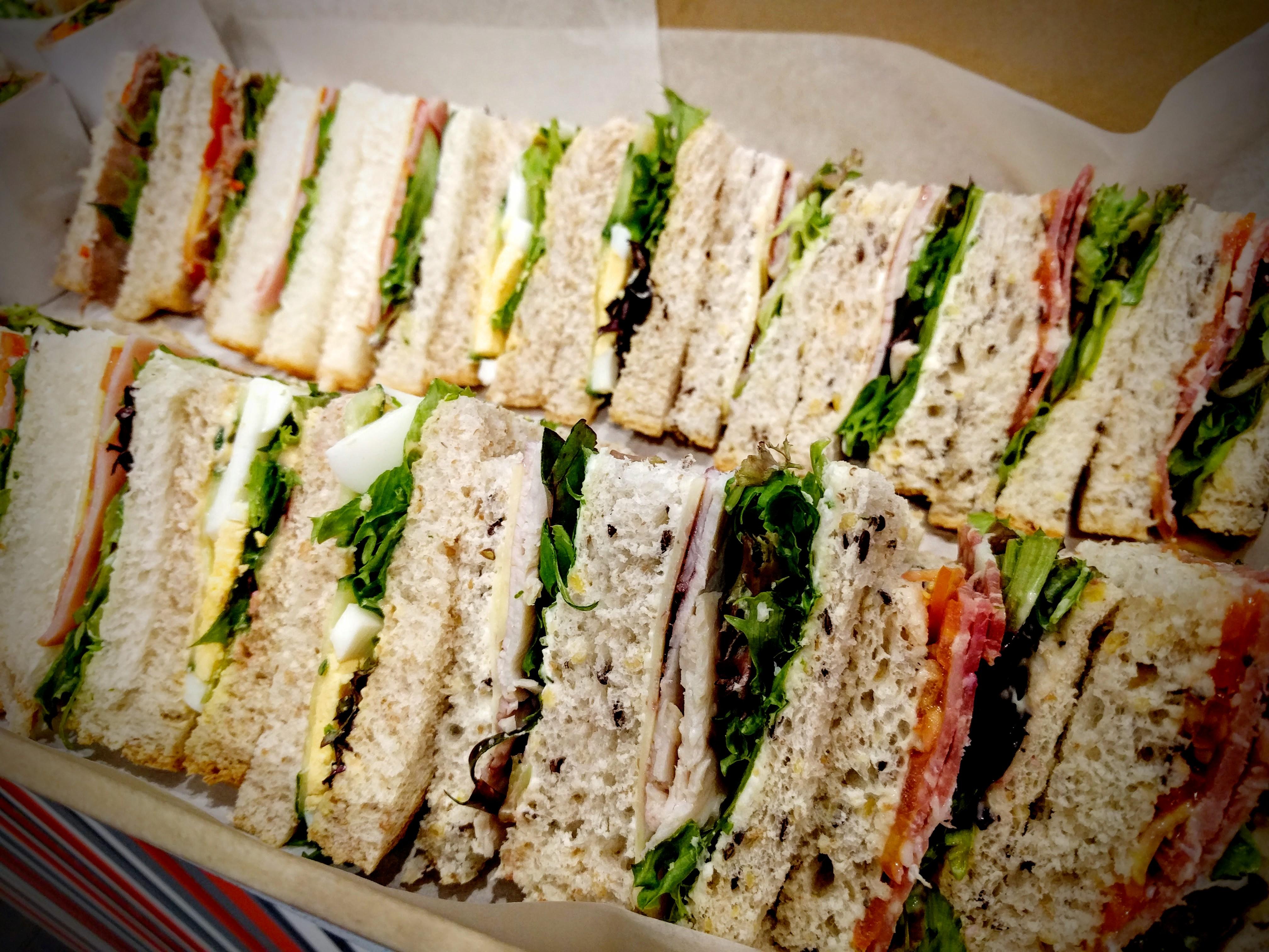Gluten free sandwiches thumbnail