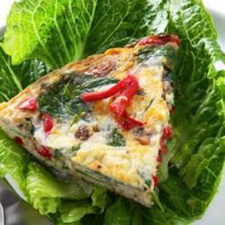 Vegetable frittata - serves 6 to 8 thumbnail